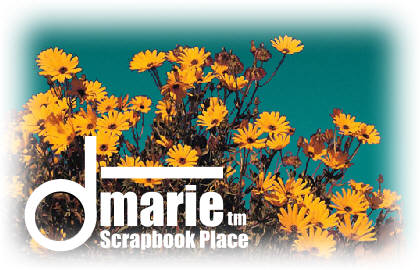 "dMarie.com -- ""Creative Scrapbook Headquarters"""